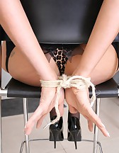 Tied up at home, pic #5