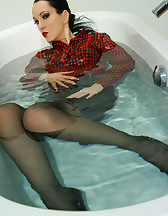 Horny and soaking wet secretary, pic #6