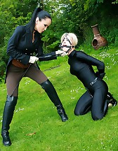 The training of ponygirl Nina Jay, pic #14