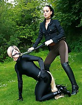 The training of ponygirl Nina Jay, pic #4