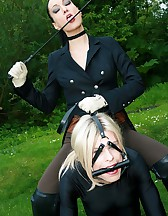 The training of ponygirl Nina Jay, pic #10