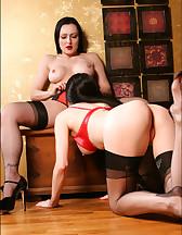 Lesbians in lingerie, pic #12