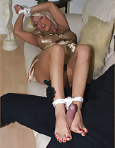 Tied by burglar, pic #11