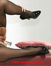 Riding on dildo, pic #4
