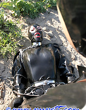 Spring walk in rubber, pic #11