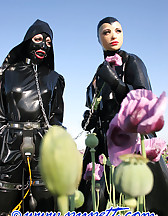 Spring walk in rubber, pic #12