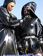 Spring walk in rubber, pic #14