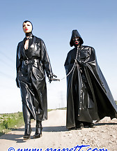 Spring walk in rubber, pic #2