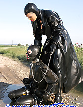 Spring walk in rubber, pic #5