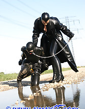 Spring walk in rubber, pic #6