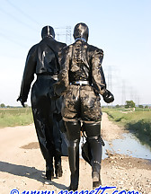 Spring walk in rubber, pic #7