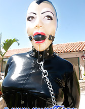 Mistress and slave arrived, pic #7