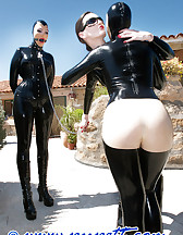 Mistress and slave arrived, pic #8