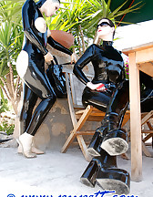 Mistress and slave arrived, pic #10