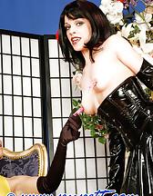 Bondage with stockings, pic #1