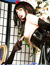 Bondage with stockings, pic #3