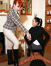 Mature riding ladies, pic #4