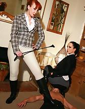 Mature riding ladies, pic #5