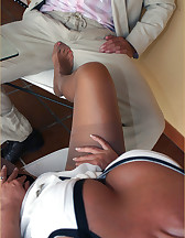 Hot blonde domme, pic #5