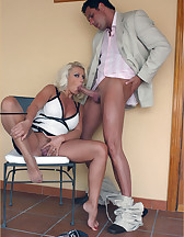 Hot blonde domme, pic #6
