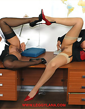 Horny office bitches, pic #12