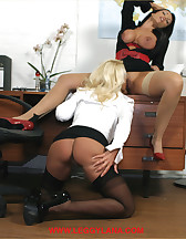 Horny office bitches, pic #5
