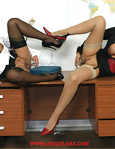 Horny office bitches, pic #9