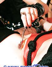 Double dildo panties, pic #10