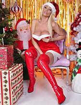 Naughty Miss Santa, pic #1