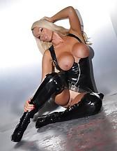 Black PVC Dress, pic #11