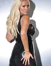 Black PVC Dress, pic #7