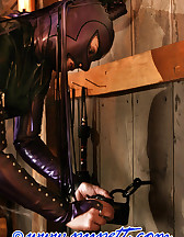 Stabled rubber pony girl, pic #11