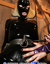 Stabled rubber pony girl, pic #14