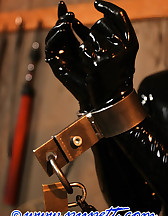 Stabled rubber pony girl, pic #5