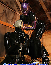 Stabled rubber pony girl, pic #7