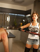 Handjob after an Ass Whipping!, pic #8