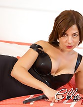 Gorgeous Ella with Her Leather Paddle!, pic #14