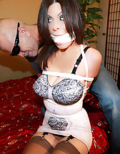 Office slut in bondage, pic #2