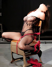 Bondage and pinch torture, pic #2
