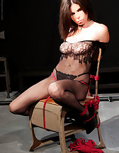Bondage and pinch torture, pic #3
