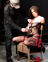 Bondage and pinch torture, pic #4