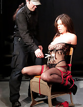 Bondage and pinch torture, pic #6