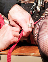 Bondage and pinch torture, pic #8
