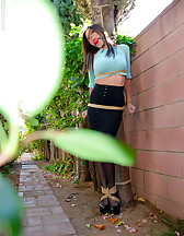 Outdoor bondage, forced orgasms, pic #3