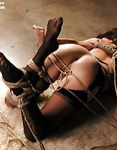 Tight ropes bondage, pic #10