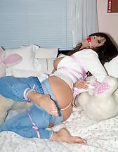 Jeans bondage, pic #10