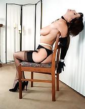 Classic ropes bondage, pic #2