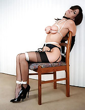 Classic ropes bondage, pic #4