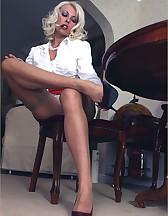 Smoking slut, pic #6