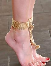 Breast rope bondage, pic #5